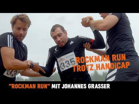 Rockman Run trotz Handicap   Mit Johannes Grasser und Team #congstar