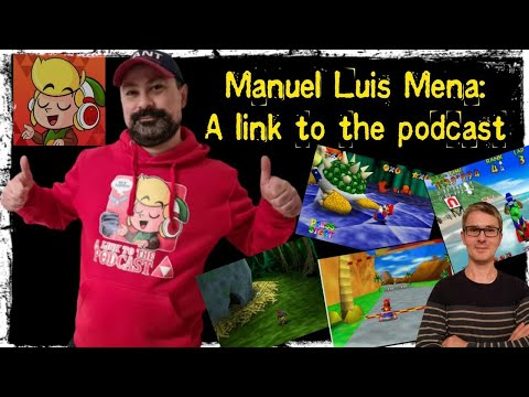 Manuel Luis Mena: A link to the podcast