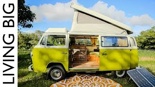 Van Life In A Renovated VW Kombi Westfalia