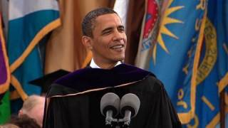 President Obama at Michigan Commencement