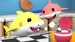 Baby Shark Johnny Johnny Yes Papa + 30 min Nursery Rhymes Songs | Baby Shark Family Songs
