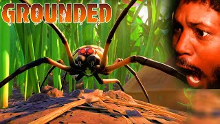 INSECTS HORROR GAME (yes, spiders too)   Grounded Gameplay