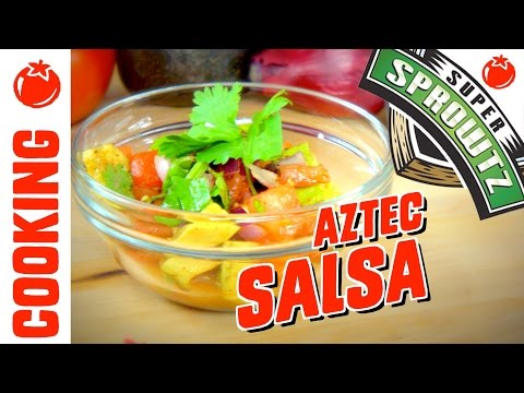 Follow Along! Todd Tomato's Aztec Salsa Recipe