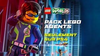 Lego worlds disponible sur ps4 :  bande-annonce