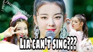 LIA ITZY CAN'T SING? (WATCH THIS)