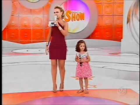 Baixar Isadora no Quadro Criança Show! Programa Eliana exibido em 22/04/2012