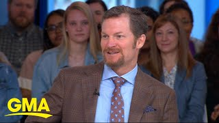 Dale Earnhardt Jr. reflects on his NASCAR career live on 'GMA'