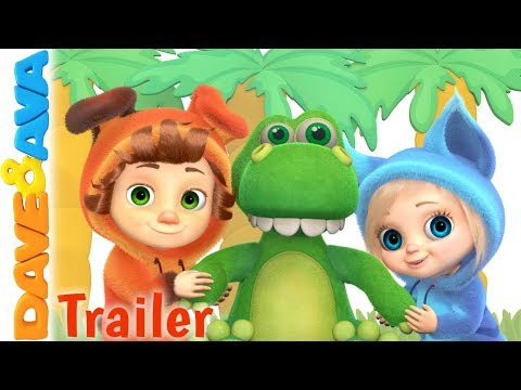 🐾 Down in the Jungle – Trailer | Kids Songs & Nursery Rhymes from Dave and Ava 🐾