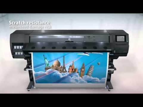 Презентация нового  принтера HP Latex 370