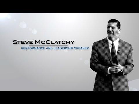 Steve McClatchy | Keynote Speaker on Performance and Leadership