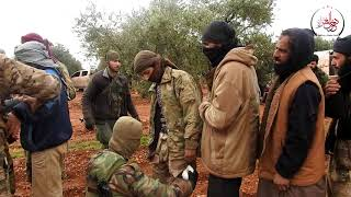 دحر الغزاة || أسرى تنظيم داعش على جبهة الخوين بريف إدلب الجنوبي ...