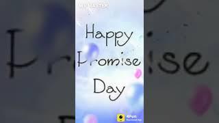 Happy promise day...