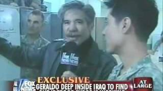 Geraldo in Iraq: A Tour of US Troops' Living Quarters!