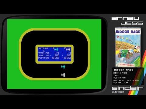 INDOOR RACE Zx Spectrum by Mind Games