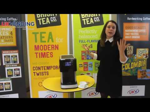 Flavia Tea with the Flavia Creation 500 from UK Vending