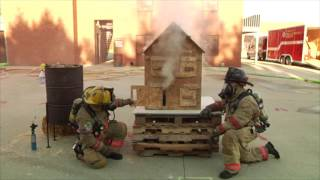Small Scale Fire Behavior Prop Demonstration