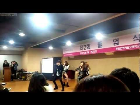 [FANCAM] 130207 Electric Shock - f(w/o Sulli)  at Hanlim Multi Arts School
