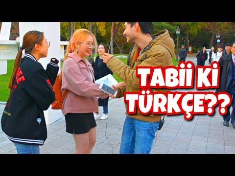 KORELİLERE TÜRKÇE KONUŞUP BU HANGİ DİLDİR DİYE SORDUK!!