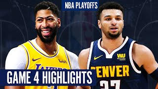 LAKERS vs NUGGETS GAME 4 - Full Highlights | 2020 NBA Playoffs
