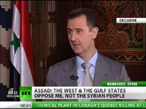 Assad to RT: \'I\'m not Western puppet - I live and die in Syria\' (EXCLUSIVE)