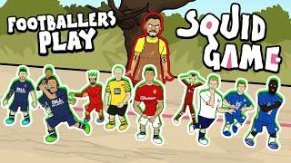 ☠️Footballers Play SQUID GAME!☠️ (Feat 33 Footballers! Frontmen 3.6)