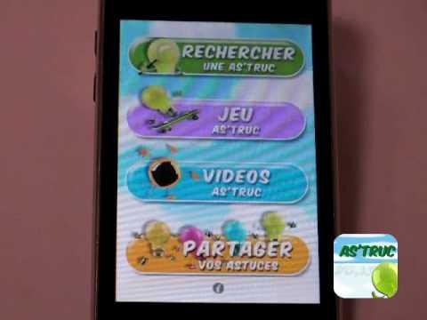 ASTRUC (VIDEO) APP IPHONE - YouTube