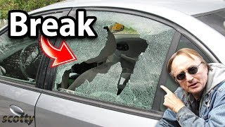 How to Break Your Car Window in Less than a Second (With Proof)
