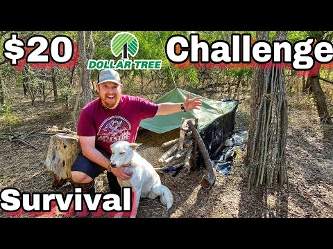 7 Day $20 Dollar Store Survival Challenge - Day 7 - Survival