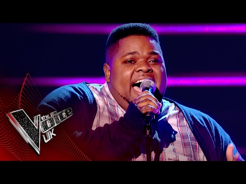 Israel Allen performs 'And I Am Telling You I'm Not Going': Blind Auditions 5 | The Voice UK 2017
