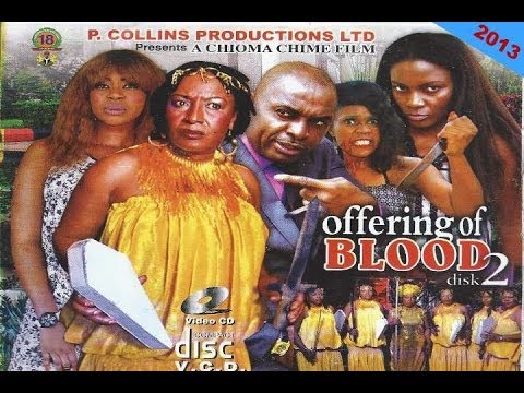 Offering of Blood 2 (My Mothers Head 4)