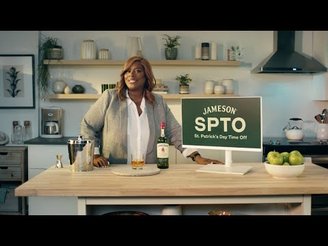 Retta and Joe team up to encourage fans to take a #JamesonSPTO – St. Patrick's Day Time Off – on March 17th. Jameson fans who pledge to take the time will be entered for a chance to win $50 to spend with friends this St. Patrick's Day.