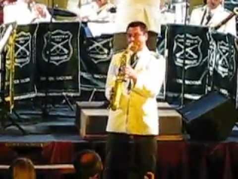 Againts All Odds - Orfeon Nacional de Carabineros de Chile - Saxofonista Alexis Quiroz