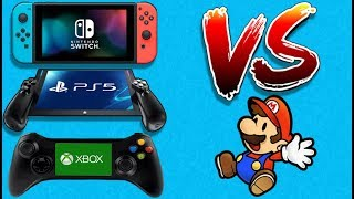 Sony/Microsoft Portable Consoles VS The Nintendo Switch - Could Nintendo Survive?