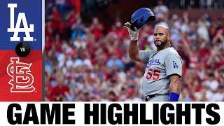 Dodgers vs. Cardinals Game Highlights (9/7/21) | MLB Highlights