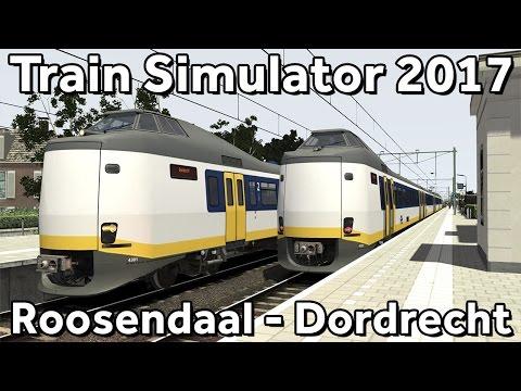 Train Simulator 2017: Roosendaal - Dordrecht met ChrisTrains ICM in Sprinter kleuren