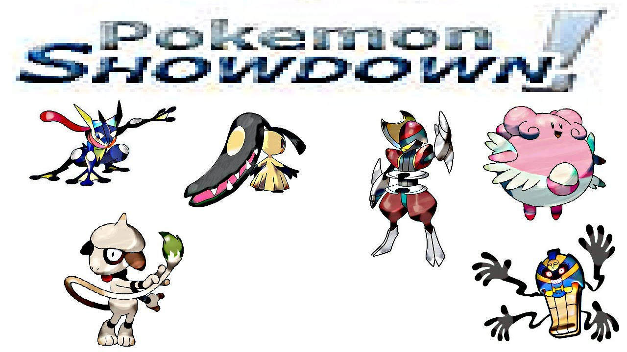 pokemon showdown best ou team