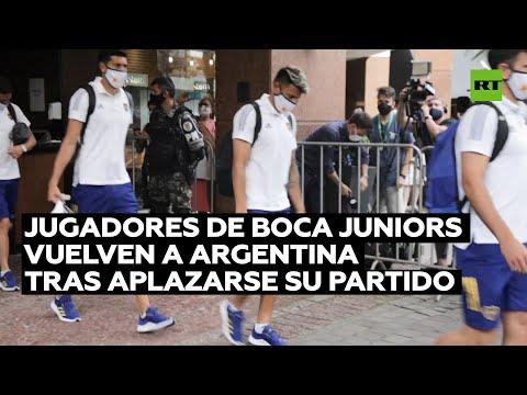 Boca Juniors vuelve a Argentina tras aplazarse su partido en Porto Alegre