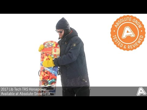2016 / 2017 | Lib Tech TRS Horsepower Snowboard | Video Review