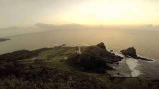 御願崎の夕景 石垣島空撮 by 石垣島の空撮屋 on YouTube