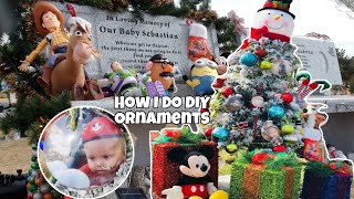 Decorating Sebastians Grave For Christmas! Vlogmas Day 4