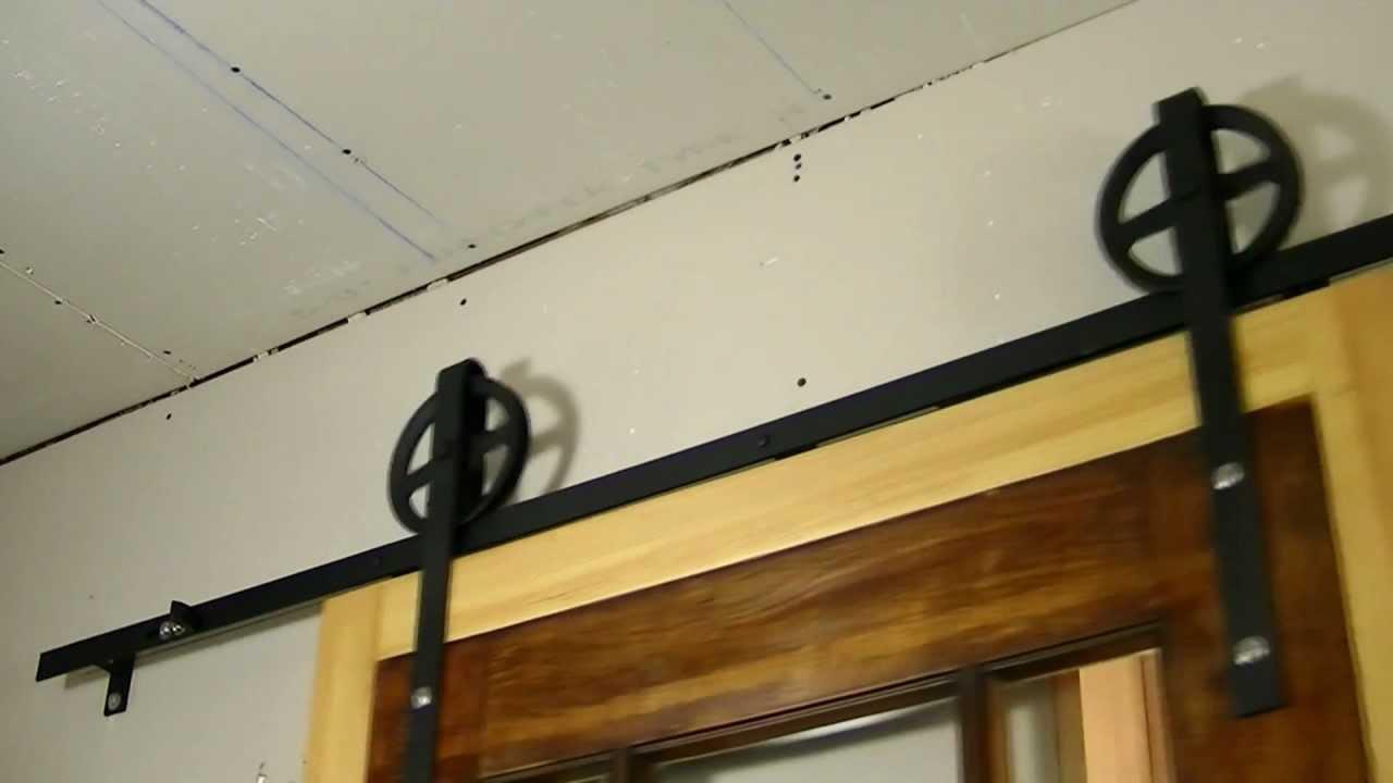 barn door hardware barn door hardware track. Black Bedroom Furniture Sets. Home Design Ideas