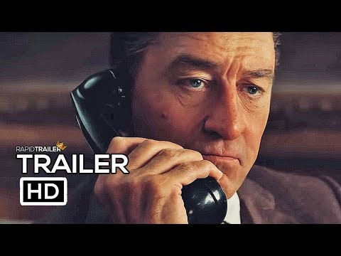 THE IRISHMAN Official Trailer (2019)