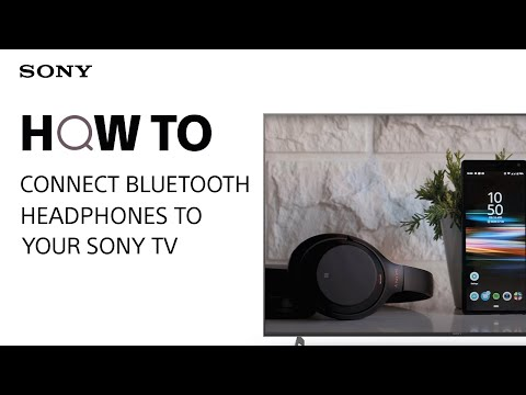 How to connect Bluetooth headphones to your Sony TV