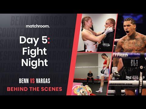 Fight Night: Benn Vs Vargas, Courtenay Vs Bridges (Behind ...
