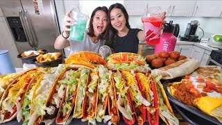 Too Much TACO BELL MUKBANG | Eating Show