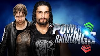 How did WrestleMania affect Roman Reigns & Dean Ambrose's rankings?: WWE Power Rankings, Apr 9, 2016