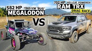 Racing the New $100k Ram TRX Against Blake Wilkey's 650hp Race Buggy // This vs. That