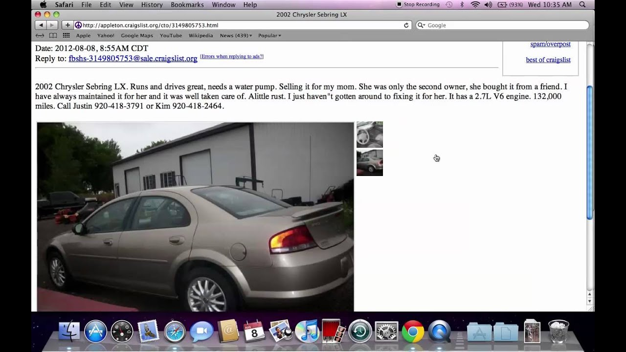 Craigslist Wausau Used Cars For Sale By Owner