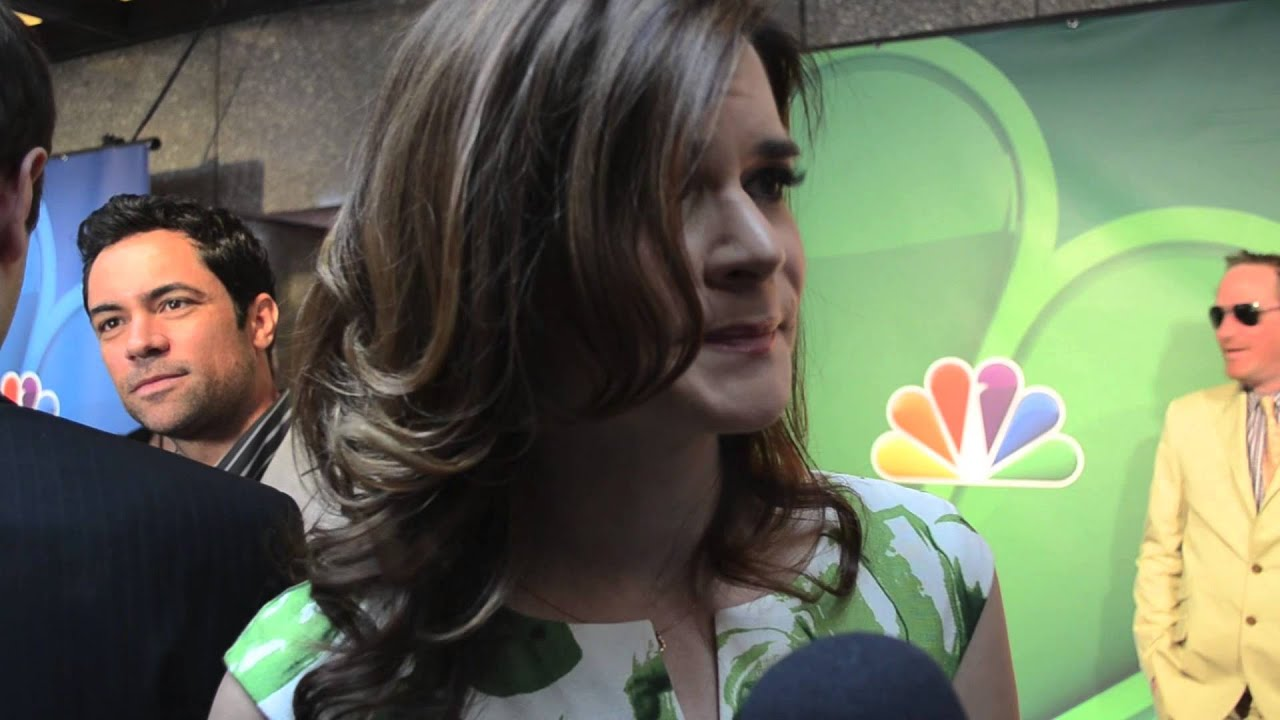 The Michael J. Fox Show - Betsy Brandt Interview - NBC Upfronts 2013