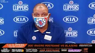 Doc Rivers postgame LA Clippers win vs Portland Trailblazers 8.8.20